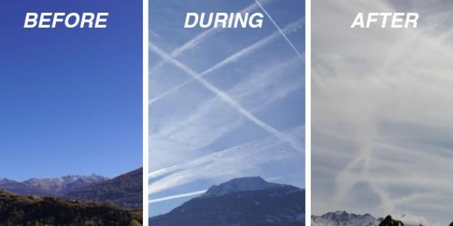 UN is using chemtrails to reduce populous
